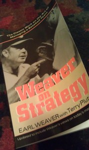 My dog-earred copy of Weaver on Strategy (written in 1984, updated in 2002 and still in print) is always close at hand during the season.