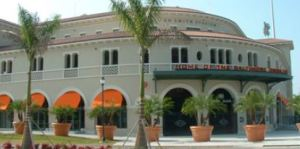 Ed Smith Stadium, Sarasota, Florida. Spring home of the Baltimore Orioles. Go O's!
