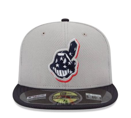 indians stars stripes cap