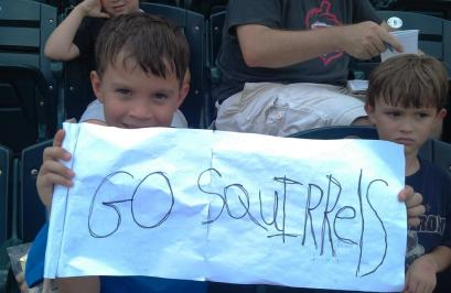 Nathaniel Go Squirrels