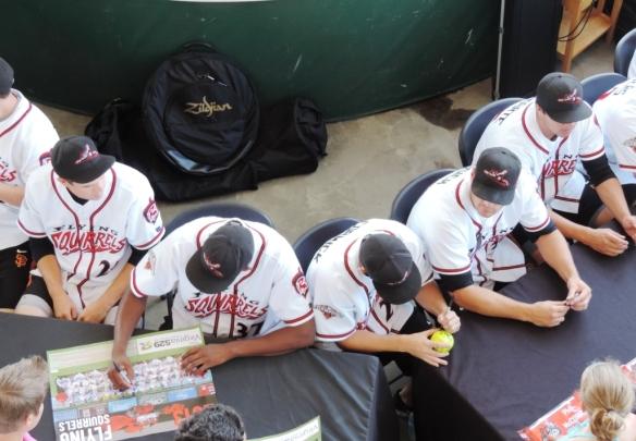 more autographs