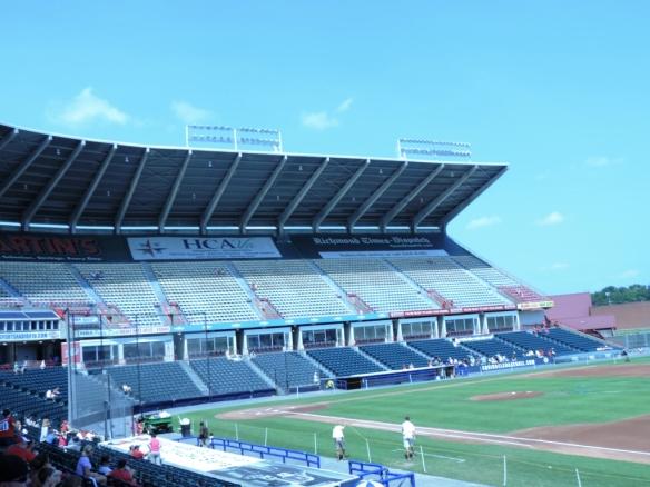 old stadium