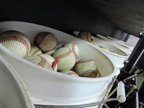 bucket of balls