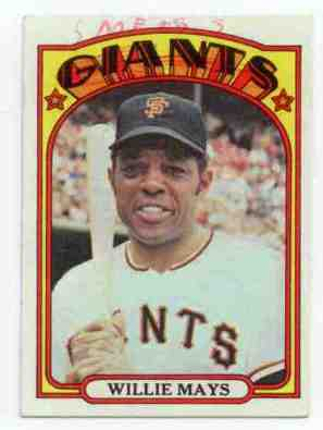 willie mays card