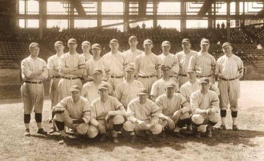 1918 yankees team