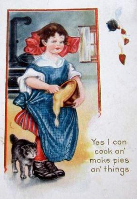 pie postcard