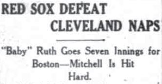 baby ruth headline