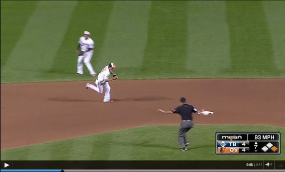 jj hardy double play