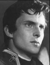 jeremy brett as nikolai rostov 1956