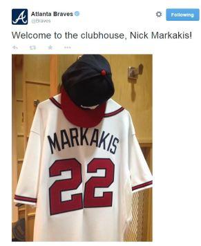 markakis braves twitter