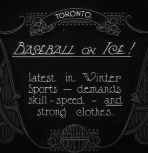 baseball on ice 1