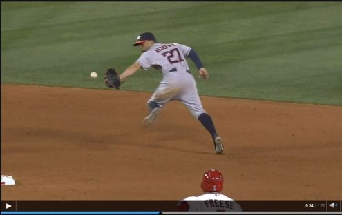 altuve double play