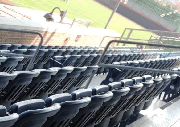 davenport blue seats