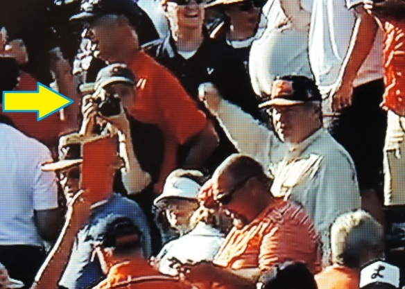 the baseball bloggess takes a selfie