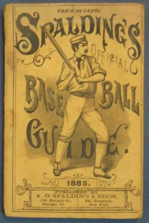 Spalding Baseball Guide 1885