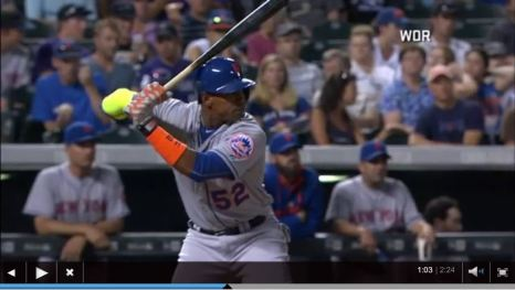yoenis homers video