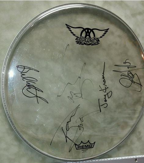 Aerosmith Drumhead Gala