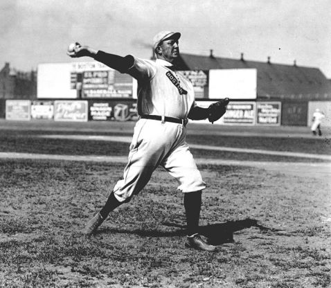 Cy Young 1908 public domain