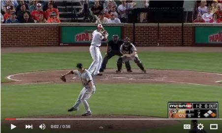 Crush Broken Bat Homer 2012