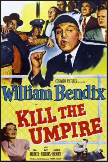 kill the umpire movie poster 1950