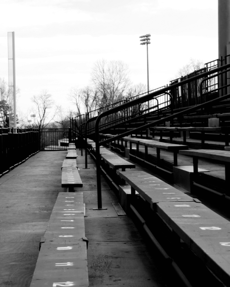 my first bleacher of spring 2016