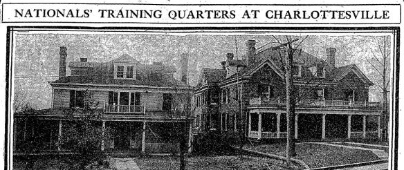 Charlottesville boardinghouses Washington Post Jan 25 1912