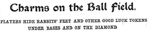 Charms On The Ball Field NYTelegraph 1910