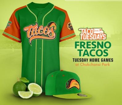 Fresno Grizzlies Taco Tuesdays