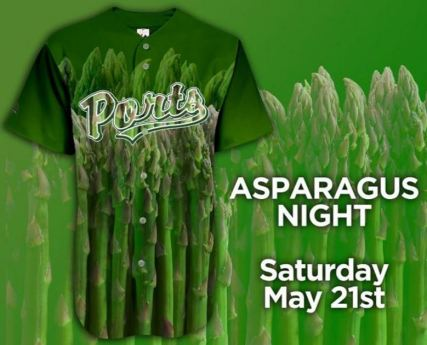 stockton ports asparagus night