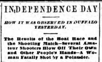 BuffEveNews 7 5 1881 how Independence Day was Celebrated in Buffalo