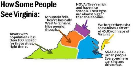 how people see Virginia