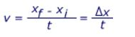 velocity-formula