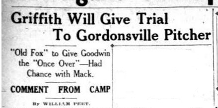 wash-herald-3-21-1916-griffith-will-give-trial-to-gordonsville-pitcher-headline