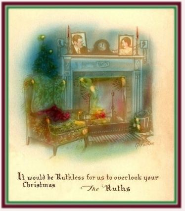 babe-ruth-family-christmas-card-1930s