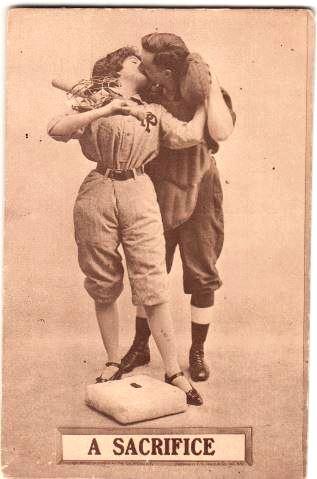 vintage-baseball-postcard-sacrifice