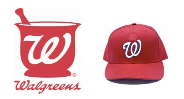 Washington Logo Nationals Walgreens